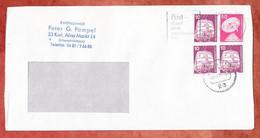 Brief, Industrie + Technik, MS Post Damit Man Voneinander Hoert Kiel 1976 (5307) - Brieven En Documenten