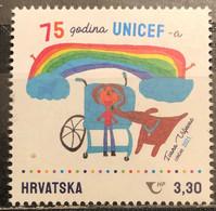Croatia, 2021, The 75th Anniversary Of UNICEF (MNH) - Croatia