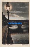 172204 ITALY FIRENZE TOSCANA OLD BRIDGE POSTAL POSTCARD - Zonder Classificatie