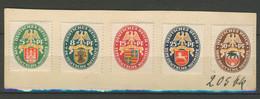DEUTSCHES REICH 1928: Mi 425 - 429, (*) Nsg - KOSTENLOSER VERSAND AB 10 EURO - Unused Stamps