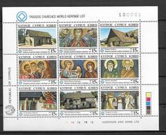 1987 MNH Cyprus, Mi 672-80 Postfris ** - Unused Stamps
