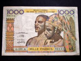 BEAU Billet De 1000 F Des Etats D'Afrique De L'Ouest - Other - Africa
