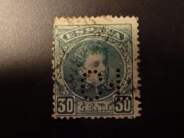 ESPAGNE  Perforé  1901-05  Numéro 219 Y&T - Used Stamps