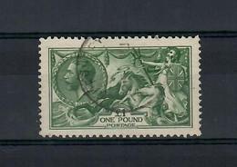 Gran Britain / England 1913 --  Allegorie  -- N.156 -- 1 £ Used - Used Stamps