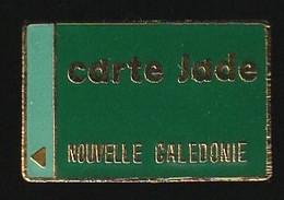 72846-Pin's.cartes Jade De Paiement.Banque.Nouvelle Caledonie.numéroté 463. - Banks