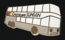 72847-Pin's.Autocars Sumian à Venelles Transport . - Transportation
