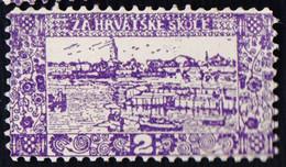 CROATIA - K.u.K. VUKOVAR - SCHOOL FEE  - **MNH - 1912 - Croatia