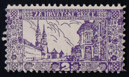 CROATIA - K.u.K. VINKOVCI - SCHOOL FEE  - **MNH - 1912 - Croatia