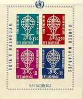 Albania 1962 Malaria Eradication Imperf M/sheet Unmounted Mint, SG BL 7B - Albania