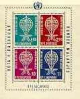 Albania 1962 Malaria Eradication Perf M/sheet Unmounted Mint, SG BL 7A - Albania