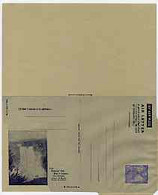 Aerogramme - British Guiana 1945/50 6c Blue (Fishing With Bow & Arrow) Air Letter Sheet Illustrated With Kaieteur Falls, - British Guiana (...-1966)