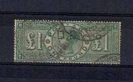 Gran Britain / England 1891 --  N.105 -- 1 £ Used - Used Stamps