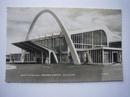 Avion / Airplane / KLM / Main Entrance, Renfrew Airport, Scotland / Aéroport / Flughafen - Aeródromos