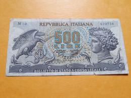 ITALIE 500 LIRE 20-6-1966 - 500 Liras