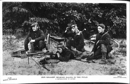 035 811 - CPA -  Thèmes - Militaria - Our Gallant Belgian Allies In The Field - A Mitailleuse In Action - Materiale