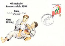 Korea Cover 1988 Seoul Olympic Games - German Medal Winner: Marc Meiling, Judo (DD33-58) - Zomer 1988: Seoel