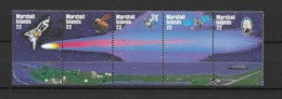 1985 MNH Marshal Mi 62-66, Halley, Postfris ** - Oceania
