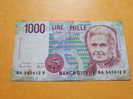 ITALIE 1000 LIRE 3-10-1990 - 1000 Liras