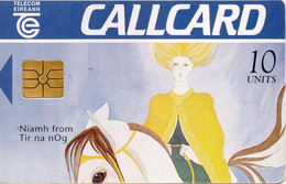 IRELAND - CHIP CARD - NIAMH FROM TIR NA NOG - Ireland