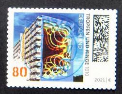 "Bund/BRD Oktober 2021 Selbstklebende Sondermarke ""Street Art (II)"" MiNr 3635 Aus Folienblatt 110, Ersttagsgestempelt - Usati"