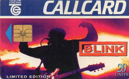 IRELAND - CHIP CARD - MUSIC BLINK - Ireland