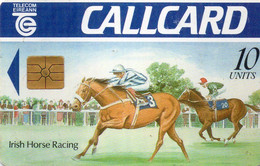 IRELAND - CHIP CARD - IRISH HORSE RACING - Ireland