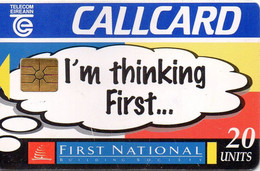 IRELAND - CHIP CARD - FIRST NATIONAL BUILDING SOCIETY - Ireland