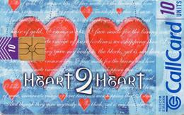 IRELAND - CHIP CARD - HEART 2 HEART - Ireland