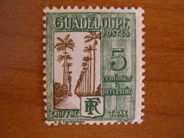 Guadaloupe N° T27 Neuf ** - Postage Due