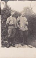 Carte Postale France Photo écrite De 2 Soldats - Photos