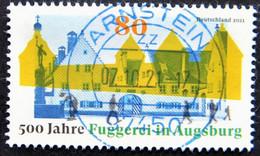 """Bund/BRD August 2021,  Sondermarke """"500 Jahre Fuggerei"""" MiNr 3621, Gestempelt - Usati"""