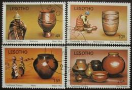 Lesotho N°401 Au 404 Série POTERIES Oblitéré - Altri