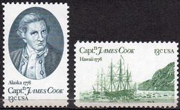 USA 1978 Captain James Cook Bicentenary - Ungebraucht