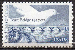 USA 1977 13¢ Peace Bridge - Ungebraucht