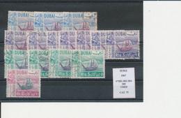 DUBAI 1967 LOTTO N° 282-283-284-285 USED - Dubai