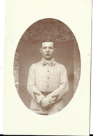 CARTE PHOTO - Militaria - Soldat Du 95e - Oorlog 1914-18