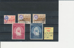 DUBAI 1966 LOTTO N° 71-78-79-80 USED - Dubai