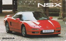 Télécarte JAPON / 110-011 - VOITURE - HONDA NSX - CAR JAPAN Phonecard - AUTO TK - 3520 - Cars