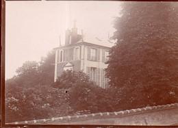 Photographie Anonyme Vintage Snapshot Ariès Nogent Sur Marne - Plaatsen