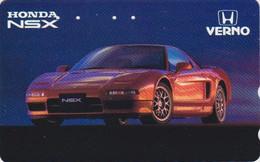 Télécarte JAPON / 110-016 - VOITURE - HONDA NSX - CAR JAPAN Phonecard - AUTO TK - 3523 - Cars