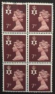 IRLANDE DU NORD / 1978 / N°Y-T : 847 / BLOC X 6 - Used Stamps