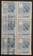 PAYS DE GALLES / 1978 / N°Y-T : 854 / BLOC X 6 - Used Stamps