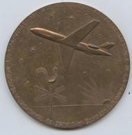 Avion, Caravelle, Tournée De Promo En Amérique, Girouette, Avril Juin 1957, Bronze, D, 80 Cm, P, 185 G, >  De 50 Villes - Other