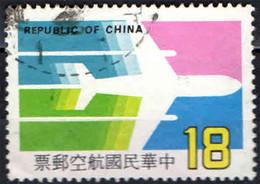 TAIWAN - 1984 - INAUGURAZIONE DELLA CHINA AIRLINES: VOLO PER AMSTERDAM - USATO - Used Stamps