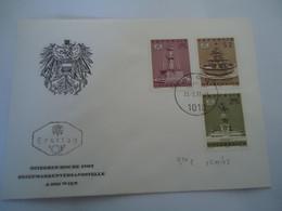 AUSTRIA FDC 1972  MONUMENTS - Ohne Zuordnung