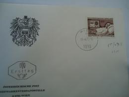 AUSTRIA FDC 1972 MEDICAL - Ohne Zuordnung