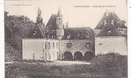16. CONFOLENS. CPA. CHATEAU DE VILLEVERT - Confolens