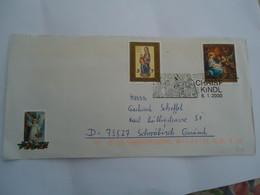AUSTRIA COVER  2000  CHRIST   KINDL  2 SCAN - Ohne Zuordnung