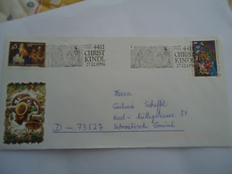 AUSTRIA COVER  1996  CHRIST   KINDL - Ohne Zuordnung