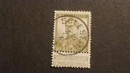 """N 112  Afst./Obl.  """" SCLESSIN """" - 1912 Pellens"""